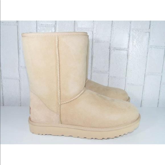258df26da32 UGG Classic Short ll Women Boots Amberlight Color